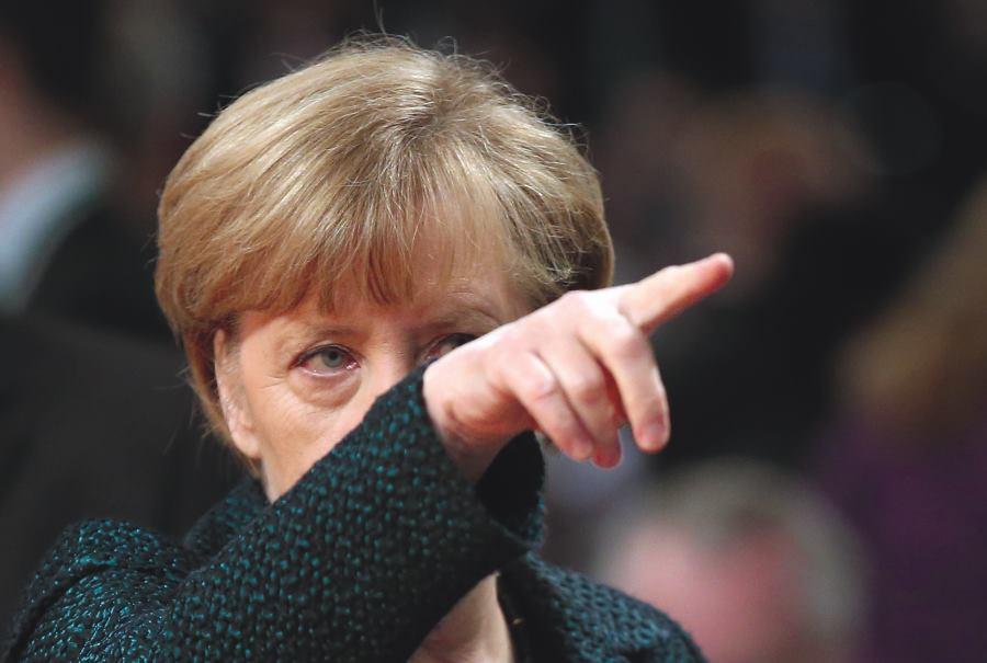 ŽIVOTNI MOTO: 'Angela Merkel ne želi da ju vodi netko drugi, želi kontrolirati i utjecati na tijek stvari, a grozi se neminovnosti' FOTO: Sean Gallup/Getty Images