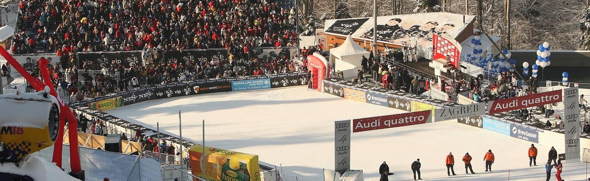 SNJEŽNA KRALJICA, SLJEME 2015. Skijaška elita na vrhu Sljemena