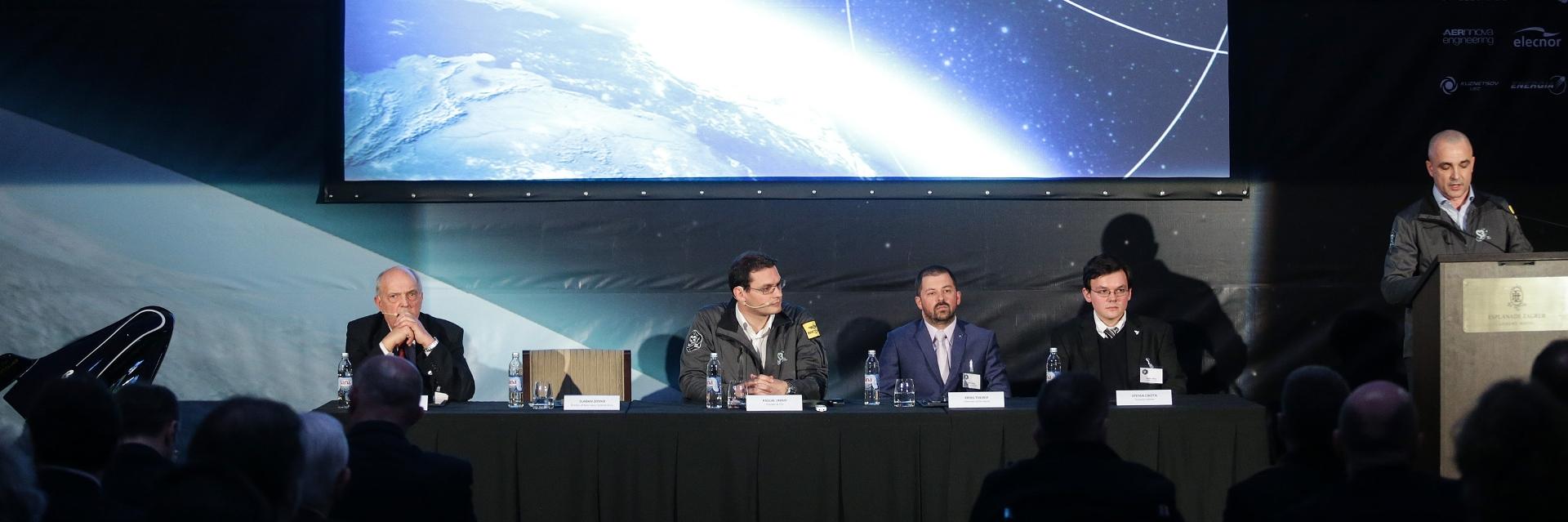 VIDEO: PRVI HRVATSKI SVEMIRSKI CENTAR Prvi Svemirski letovi iz Hrvatske mogući već od 2020. godine