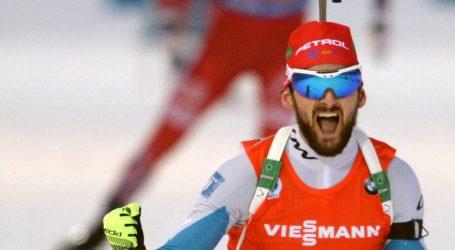 VIDEO: BIATLON Jakov Fak u završnom sprintu za jednu sekundu bio brži od Čeha Ondreja Moravca i osvojio zlato za Sloveniju na SP-u