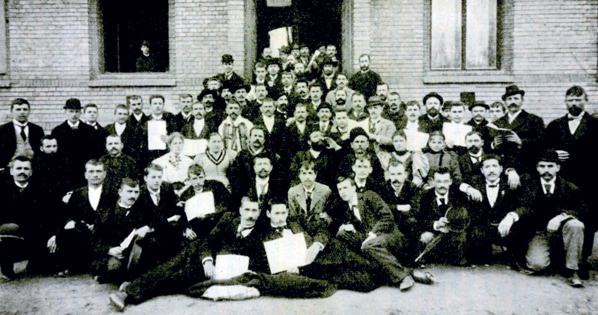 PRVA SOCIJALDEMOKRATSKA STRANKA OSNOVANA JE U ZAGREBU 1894. GODINE POD NAZIVOM SOCIJALDEMOKRATSKA STRANKA HRVATSKE I SLAVONIJE (SDSHS) | Foto: IZLOŽBA '120 GODINA HRVATSKE SOCIJALDEMOKRACIJE'