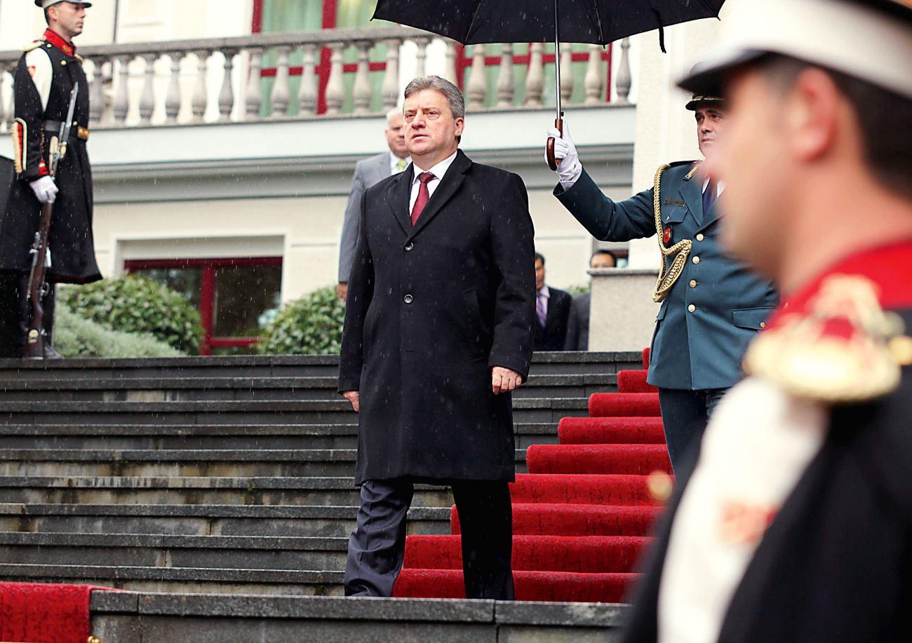 'OSTAJE DOJAM DA SU AMERIKANCI NEZAINTERESIRANI ZA MAKEDONIJU. KAO DA SU NAS ZABORAVILI JER VIŠE NE STVARAMO PROBLEME' FOTO: Ured predsjednika Republike Makedonije