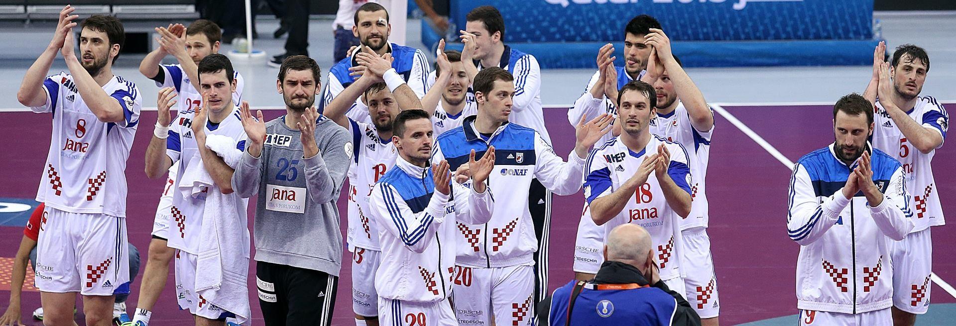 PRVI PORAZ HRVATSKIH RUKOMETAŠA u kvalifikacijama za Europsko prvenstvo 2016. godine