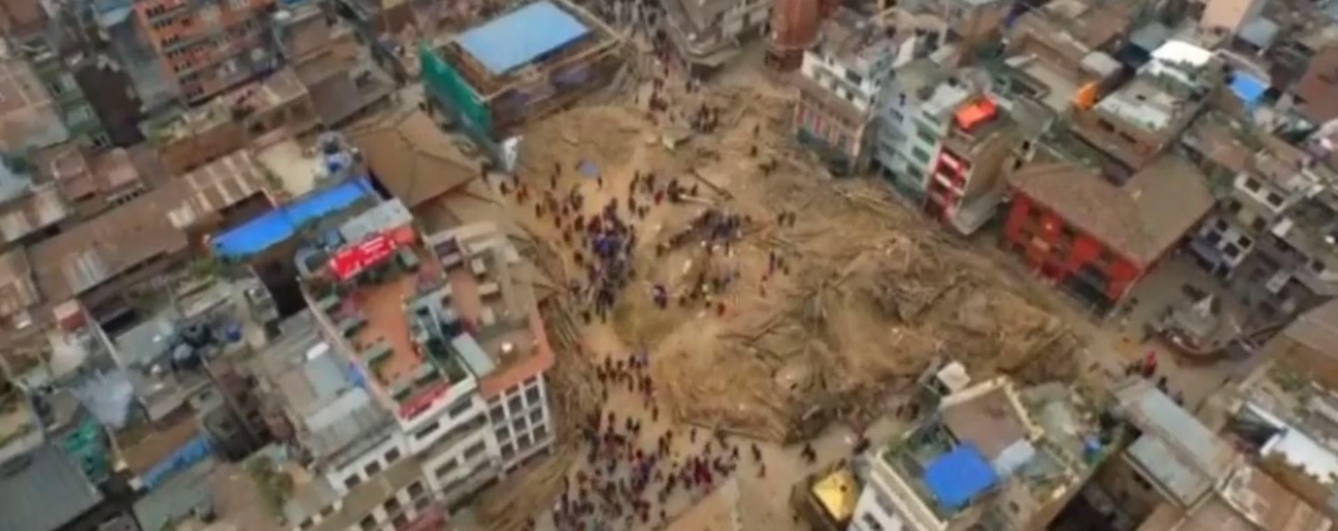 VIDEO: POTRES U NEPALU: Snimka Katmandua u trenutku potresa