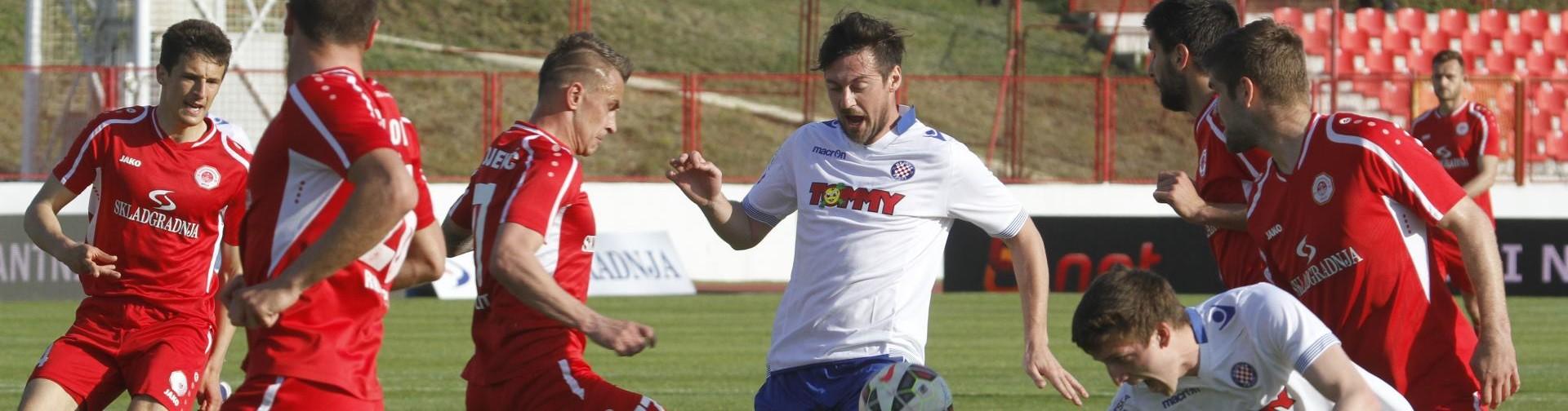 POLUFINALE HRVATSKOG KUPA Split za prvo finale u povijesti izbacio Hajduk, Dinamo obranio prednost iz prve utakmice