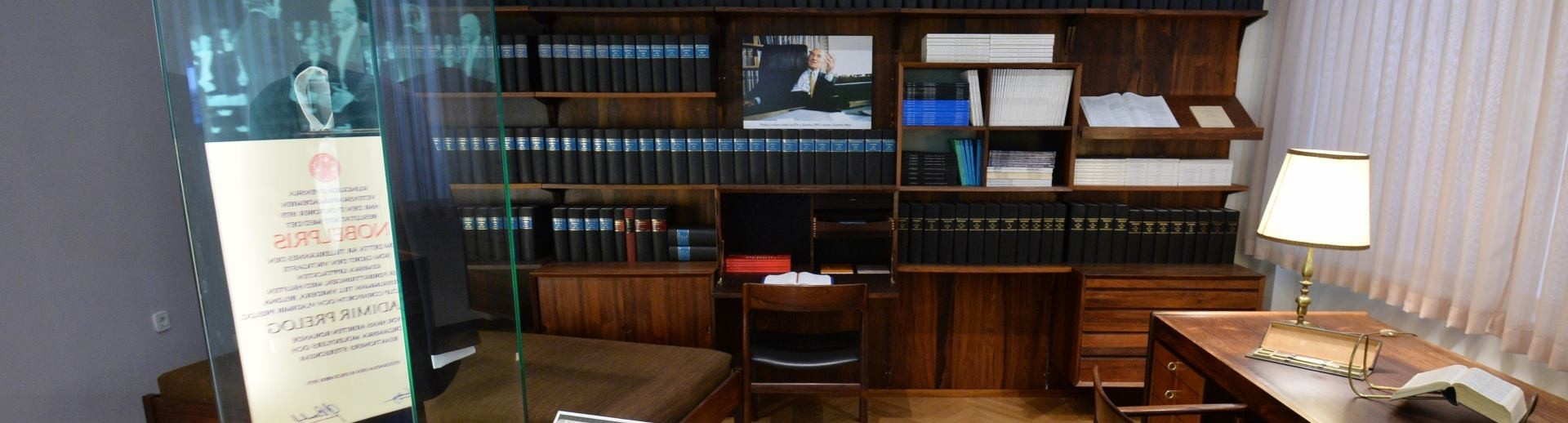 U HAZU-u OTVORENA Memorijalna soba hrvatskih nobelovaca Leopolda Lavoslava Ružičke i Vladimira Preloga