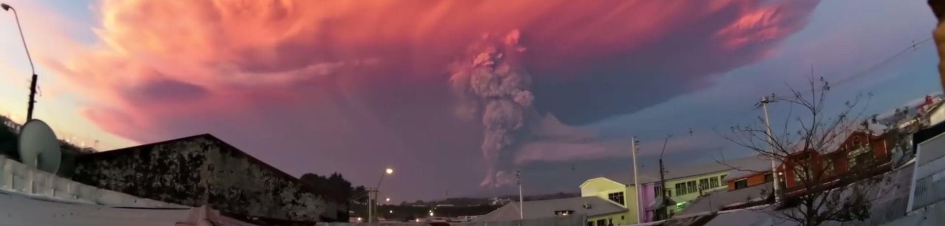 VIDEO: PROBUDIO SE VULKAN U ČILEU Evakuirani turisti i okolno stanovništvo