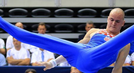 DOBAR REZULTAT Najbolji hrvatski gimnastičar Filip Ude osvojio srebrnu medalju na Svjetskom kupu u Ljubljani