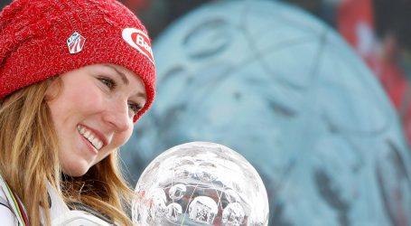 SVJETSKI SKIJAŠKI KUP Mikaela Shiffrin pobijedila je na zadnjem slalomu sezone i osvojila mali kristalni globus