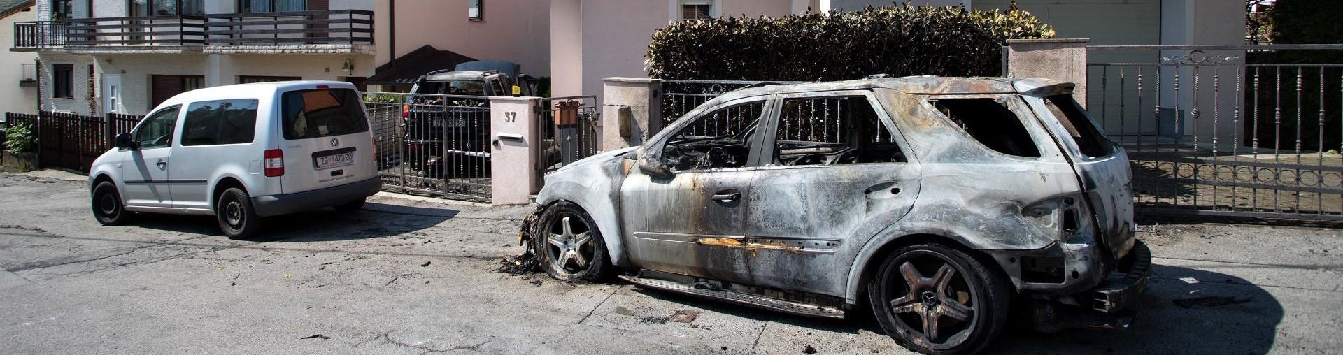 ZAPALJENI TERENCI Izgorjela luksuzna vozila vlasnika Euroherca
