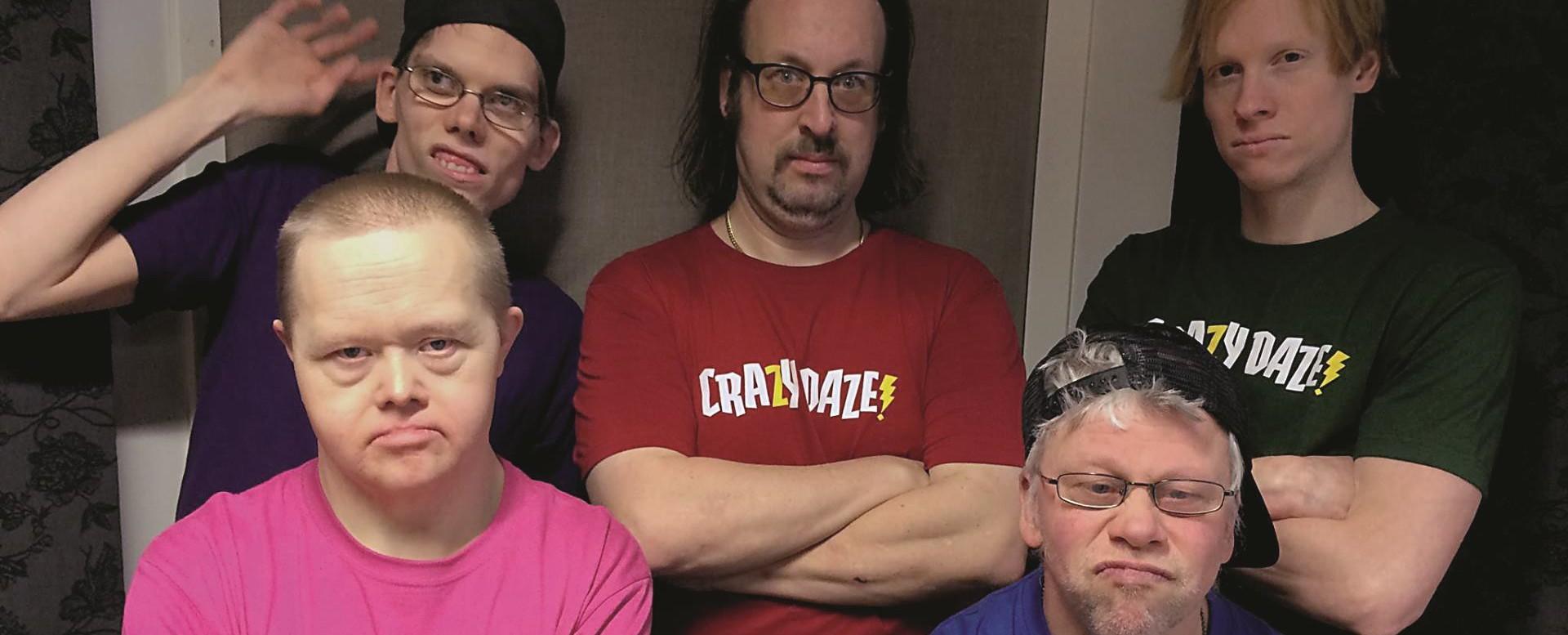 Švedska rock grupa Crazy Daze – koju čine osobe s Downovim sindromom – gostuje u Hrvatskoj