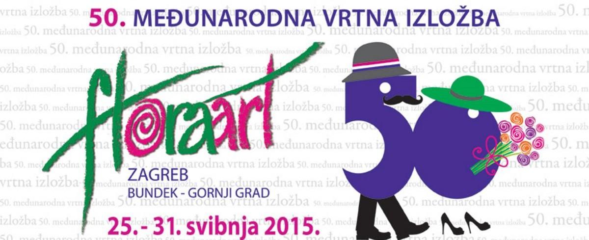 OBLJETNICA IZLOŽBE Floraart od 25. do 31. svibnja u parku Bundek