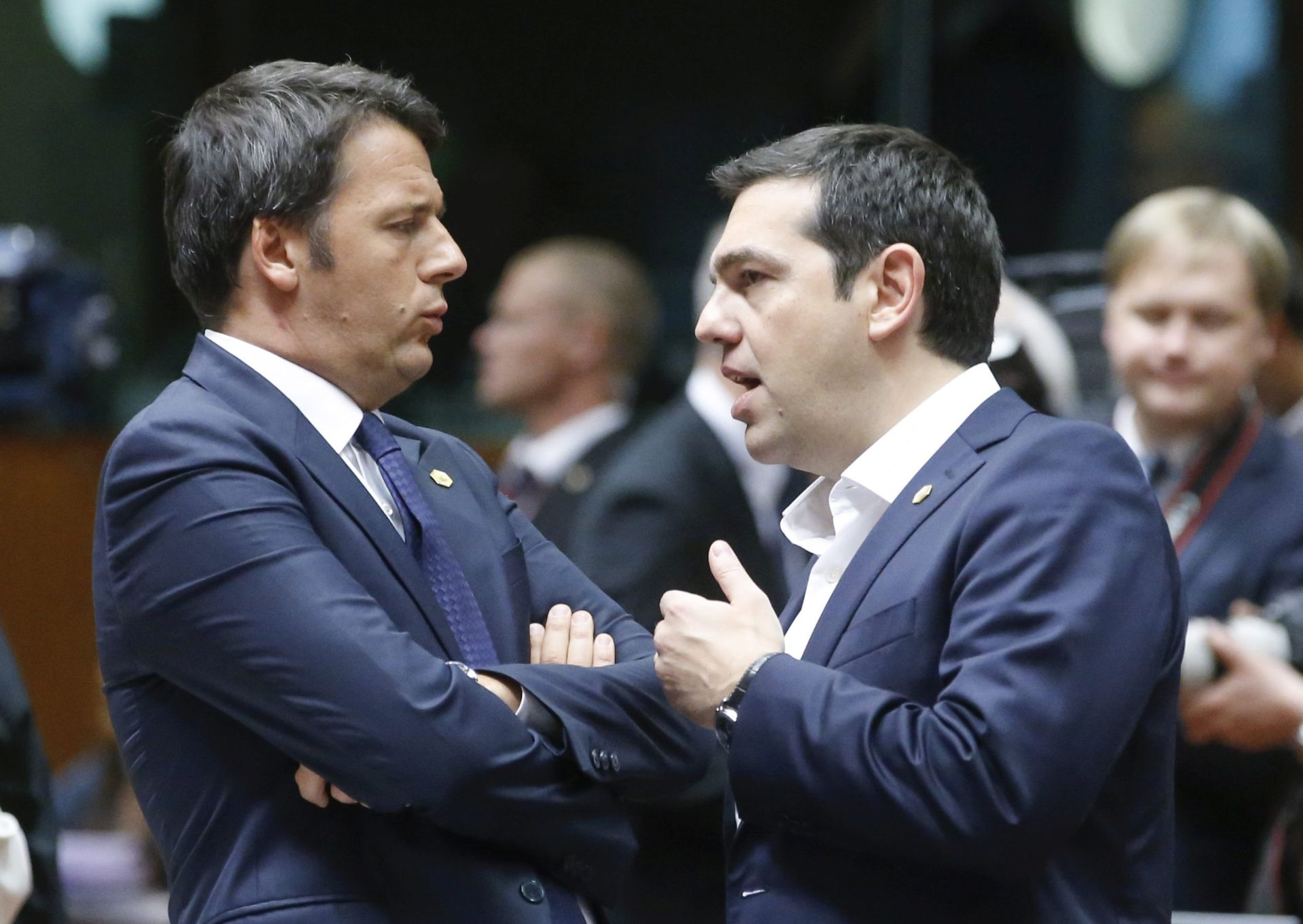 KRIZNI SASTANAK EUROSKUPINE Ministri započinju razgovore o posljedicama izostanka dogovora s Grcima