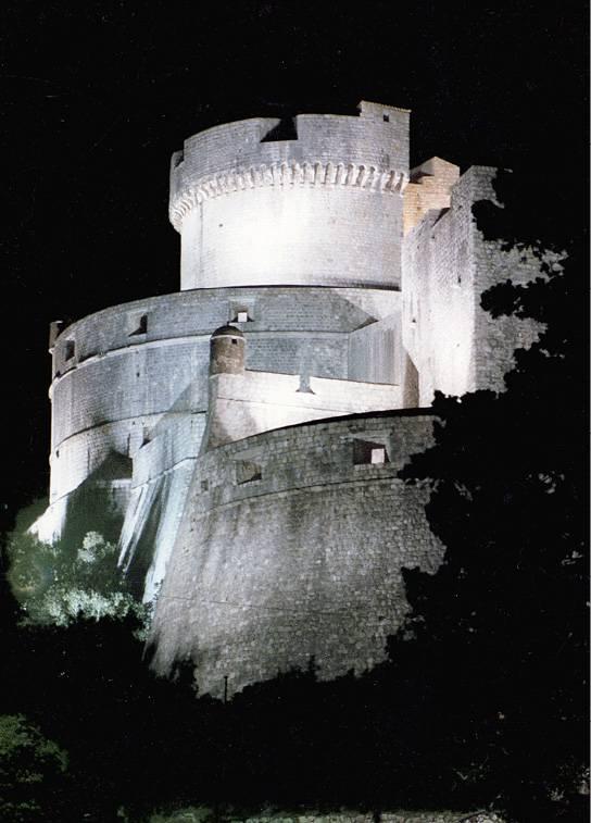 DUBROVNIK, kula Minčeta, realizacija 1988.