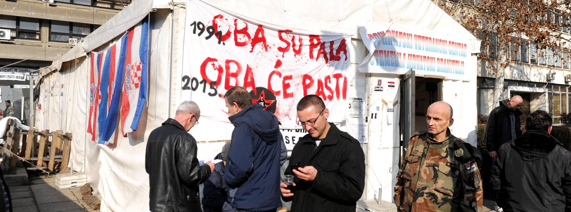 Status pripadnika Hrvatskog vijeća obrane – glavni razlog prosvjeda u Savskoj