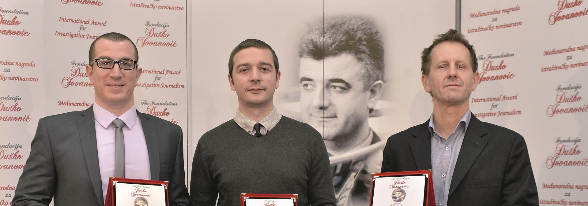 Južnoafričkim novinarima nagrada Fondacije 'Duško Jovanović'