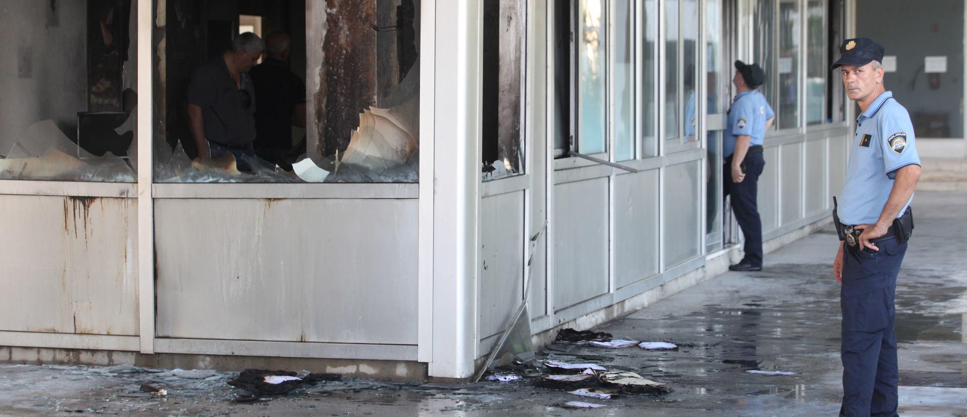 HZZO SPLIT Saniraju se posljedice eksplozije koja je uništila ured