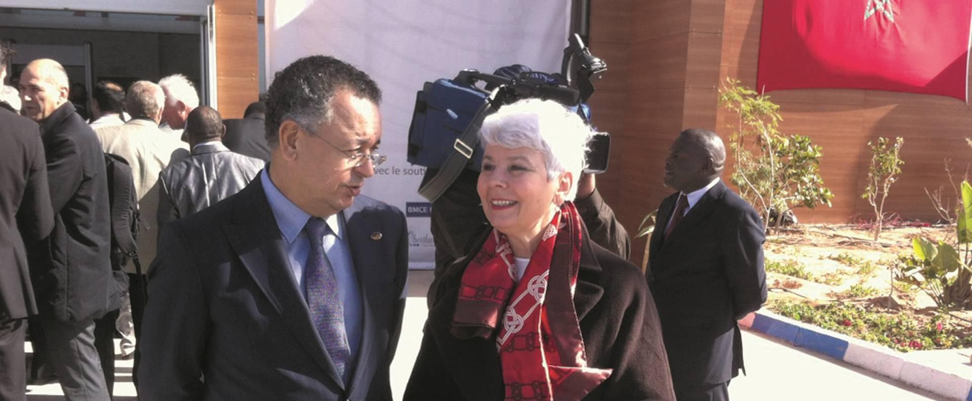 Jadranka Kosor i Josipović na Crans Montana Forumu