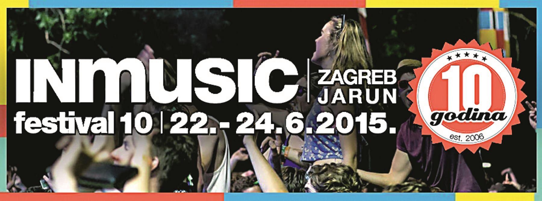 Počinje 10. jubilarni INmusic festival