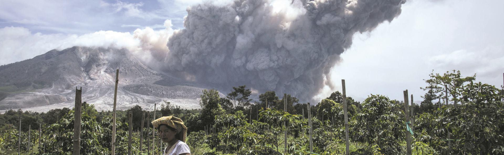 VIDEO: Eruptirao vulkan na planini Sinabung