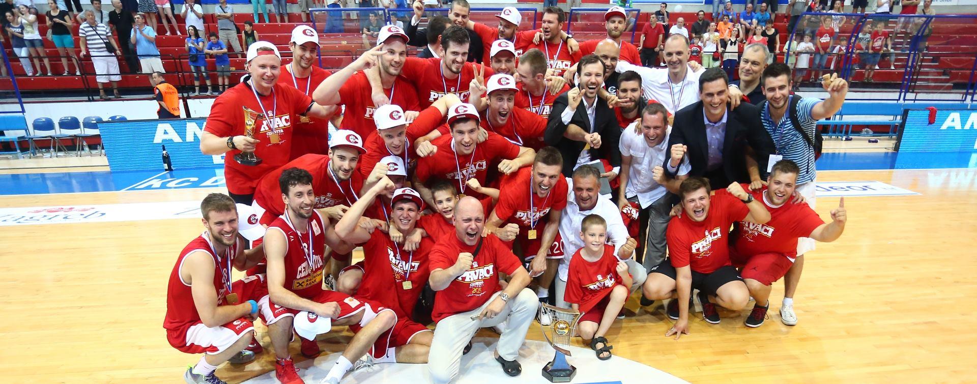OBRANILI NASLOV PRVAKA Košarkaši Cedevite pobijedili Cibonu u četvrtoj utakmici finala