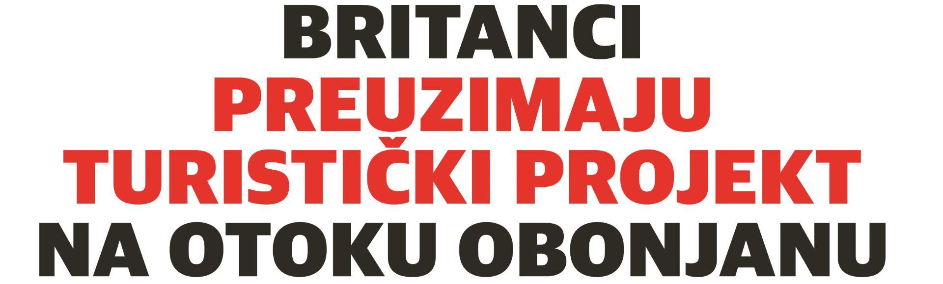 Englezi i službeno na otoku Obonjanu