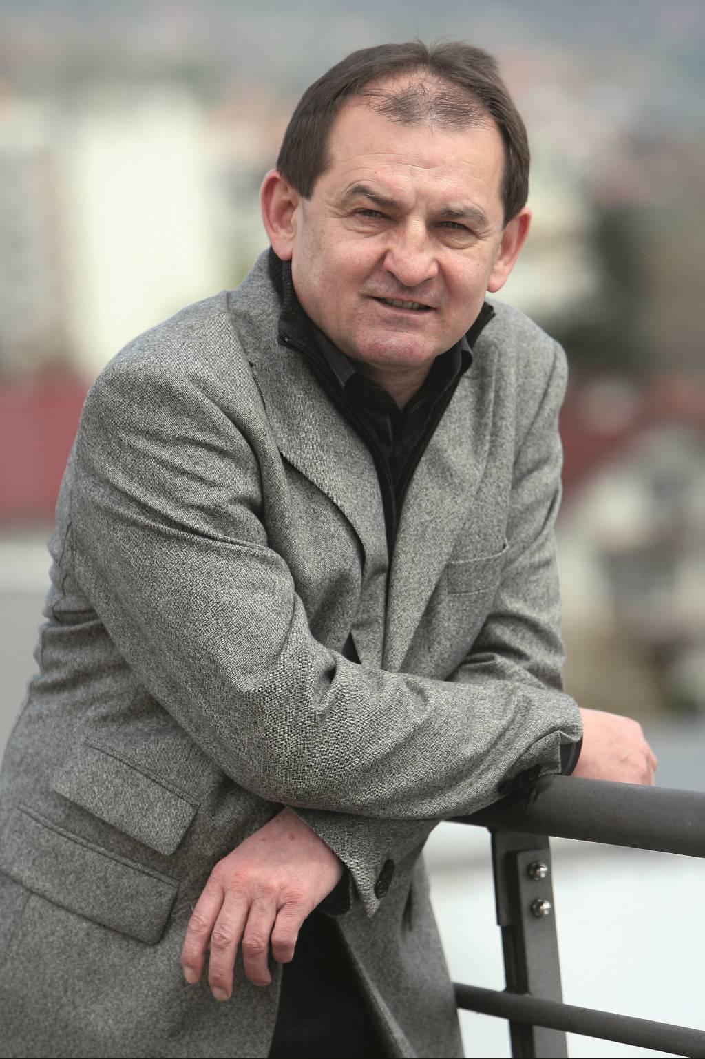 14.04.2010., Ulica Josipa Loncarica, Zagreb - Dragutin Kamenski, direktor tvrtke Kamgrad. Photo: Dalibor Urukalovic/PIXSELL