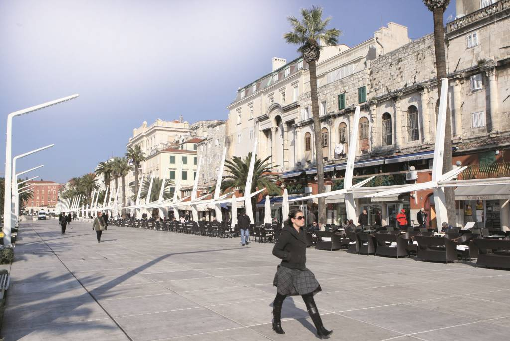 23.02.2011.,Split - Splitska riva. Photo: Ivo Cagalj/PIXSELL
