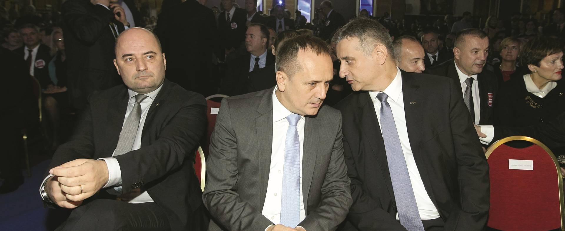 ZAMJENIK PREDSJEDNIKA HDZ-a OŠTRO KRITIZIRAO ŠEFA Prgomet napao Karamarka nakon tajnog sastanka