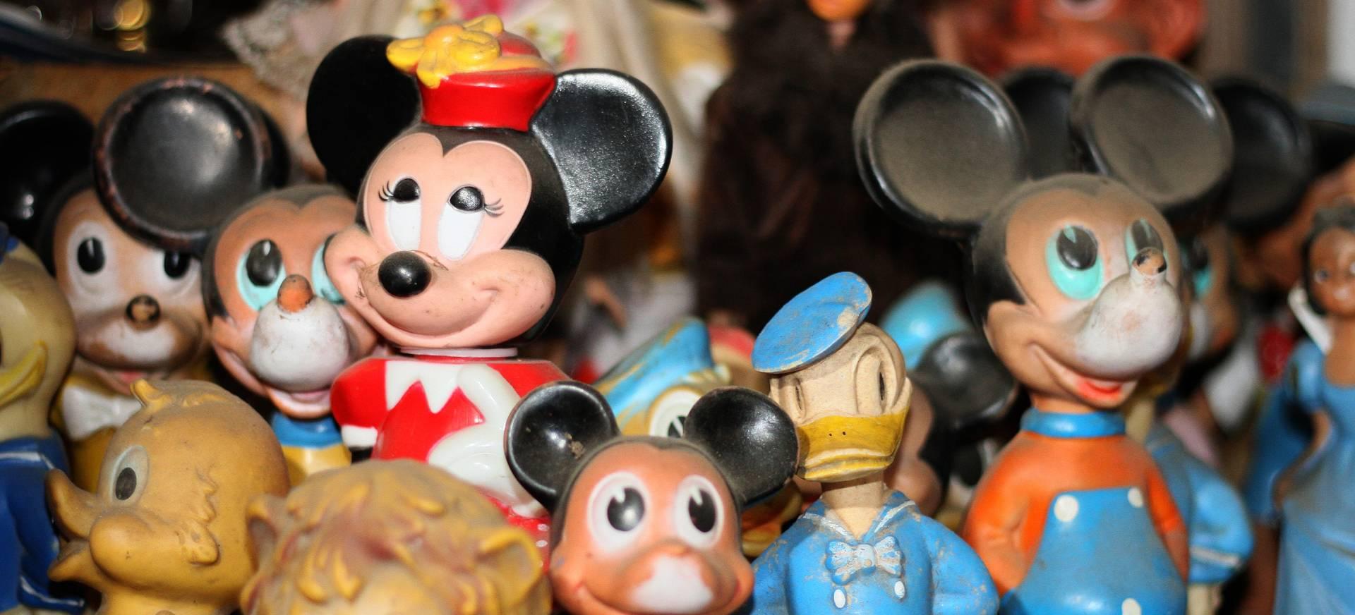 """VRIJEDNE """"VINTAGE"""" IGRAČKE """"Biserkine"""" igračke s likovima Disneya i danas na meti svjetskih kolekcionara"""