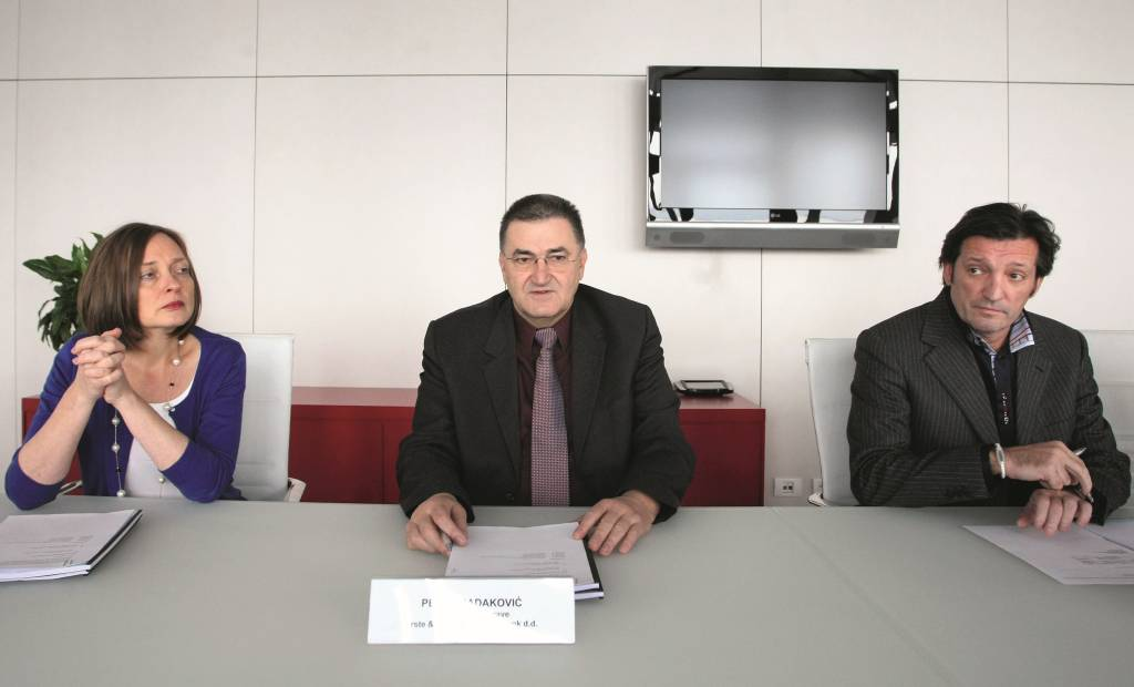 10.12.2012., Zagreb - Konferencija za novinare EBRD-a i Erste banke.  Photo: Petar Glebov/PIXSELL