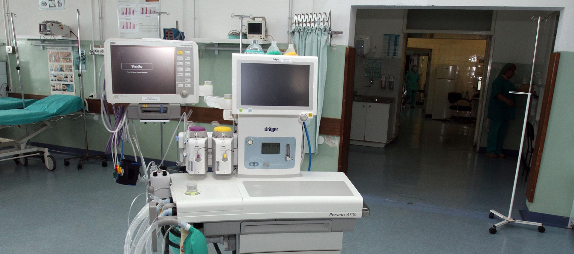 POKLON MINISTARSTVA Novi uređaji za anesteziologiju i kirurgiju u KBC-u Rijeka