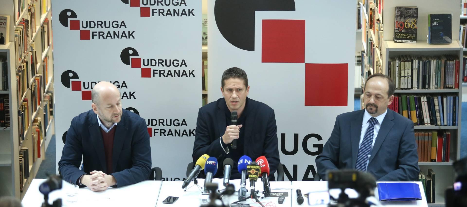 Udruga Franak: Članstvo pozdravlja napore Vlade
