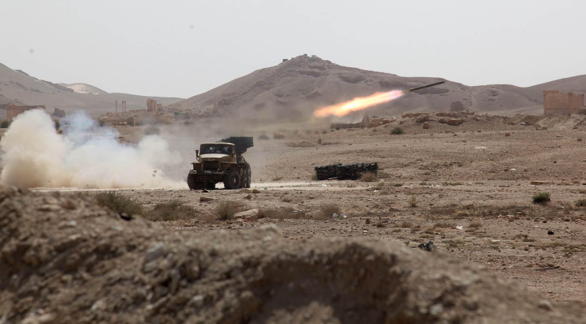 Sirija: Asadove snage na ulazu u antički grad Palmiru