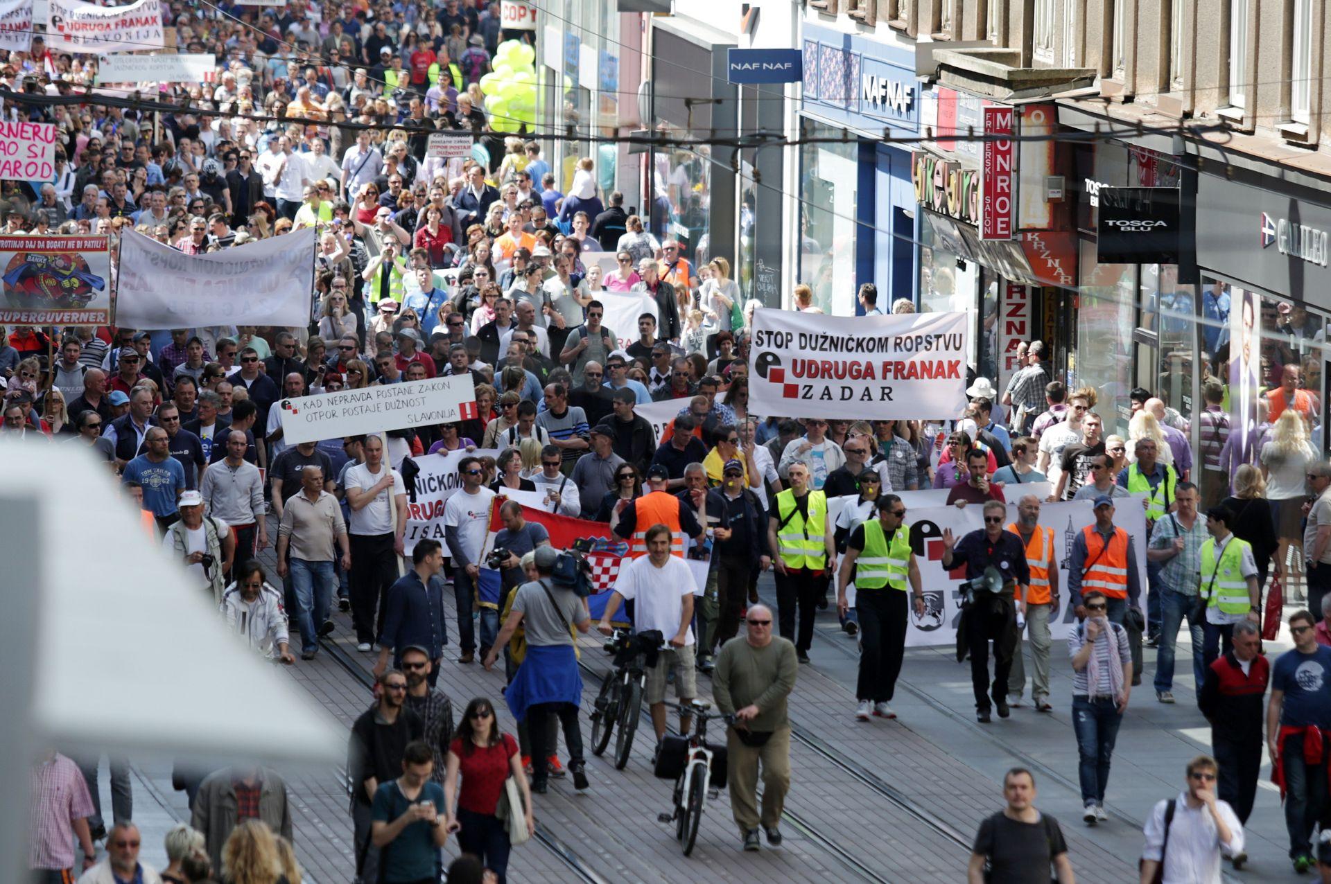 UDRUGA FRANAK Zbog pasivnosti instititucija u petak prosvjed na Markovom trgu
