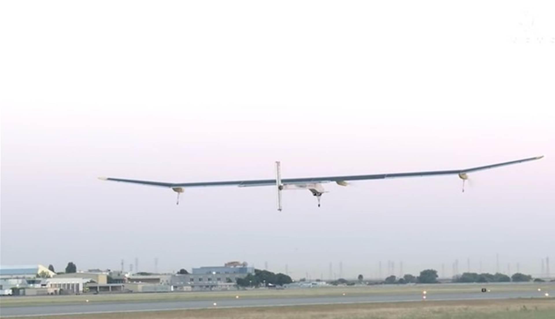 VIDEO: Solar Impulse sletio u Mountain Viewu u Kaliforniji