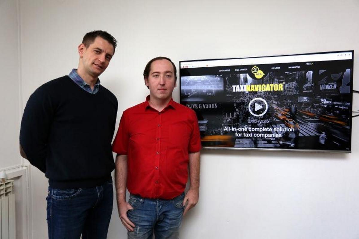 Taxi navigator najvažniji je proizvod tvrtke koji su u cijelosti razvili djelatnici Cammeo grupe i koji je testiran u realnom okruženju FOTO: Borna Filic/PIXSELL