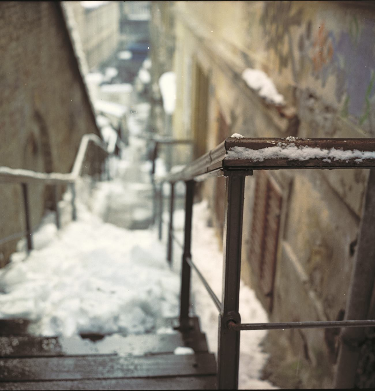 Zagreb stepenice FOTO: Damil Kalogjera