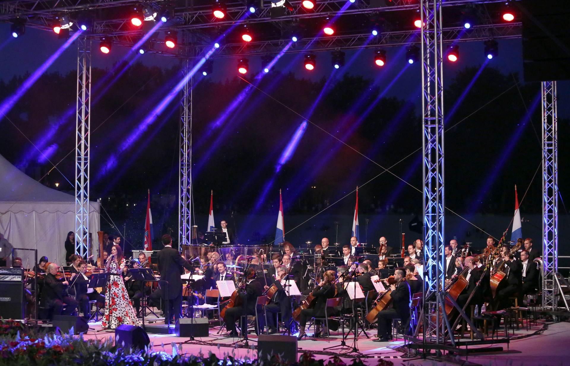 DAN DRŽAVNOSTI: Na Bundeku održan koncert Zagrebačke filharmonije
