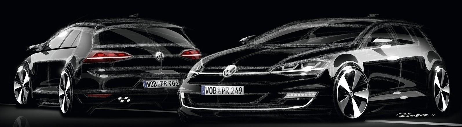 GLASINE: VW Golf VIII GTi