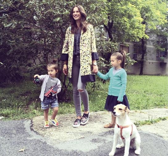 karijera Ljupke Gojić mikić traje i danas, iako ne toliko intenzivno, posebno nakon što je postala majka šestogodišnje Jane Sienne i dvije godine mlađe Mile Amelie, koje ima u braku s Mihaelom Mikićem