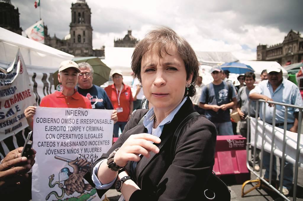 Carmen_Aristegui_en_el_campamento_del_SME