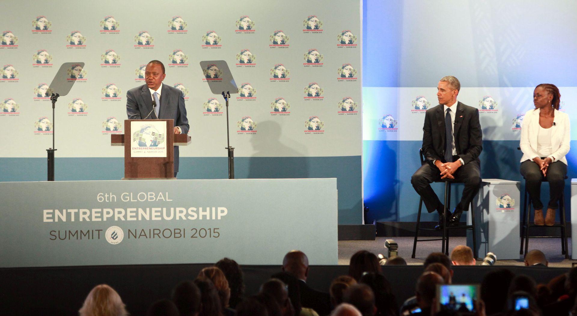 """OBAMA U KENIJI """"Afrički poduzetnici mogu potaknuti rast"""""""