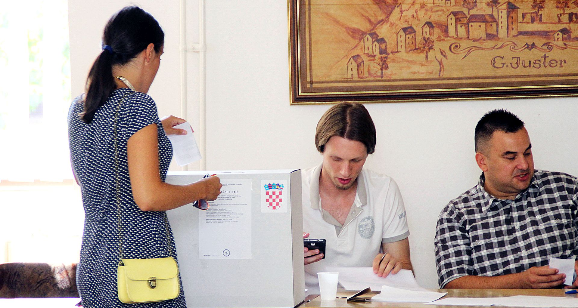 Vrgorac: U drugom krugu izbora za gradonačelnika izlaznost do 11 sati kao i u prvom
