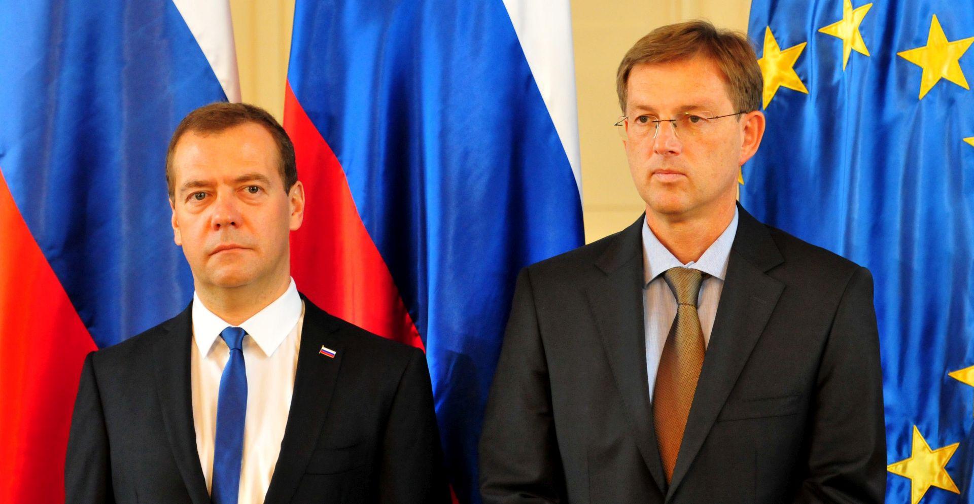 Medvedev i Cerar za obostranu obustavu sankcija EU-a i Rusije