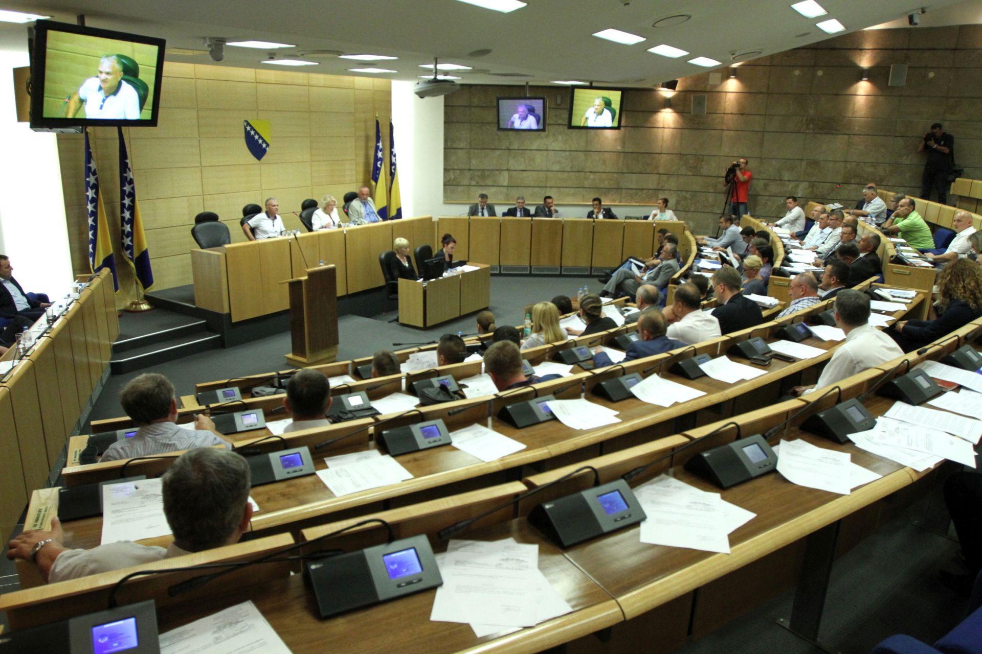 Hrvatski zastupnici blokirali rad Parlamenta BiH