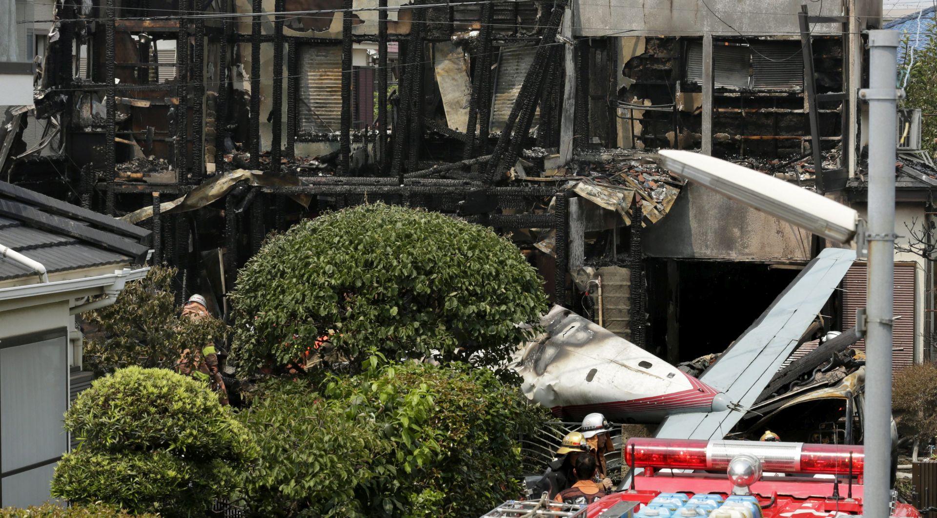 NESREĆA NAKON POLIJETANJA Najmanje troje mrtvih u padu malog aviona na stambenu četvrt u Japanu