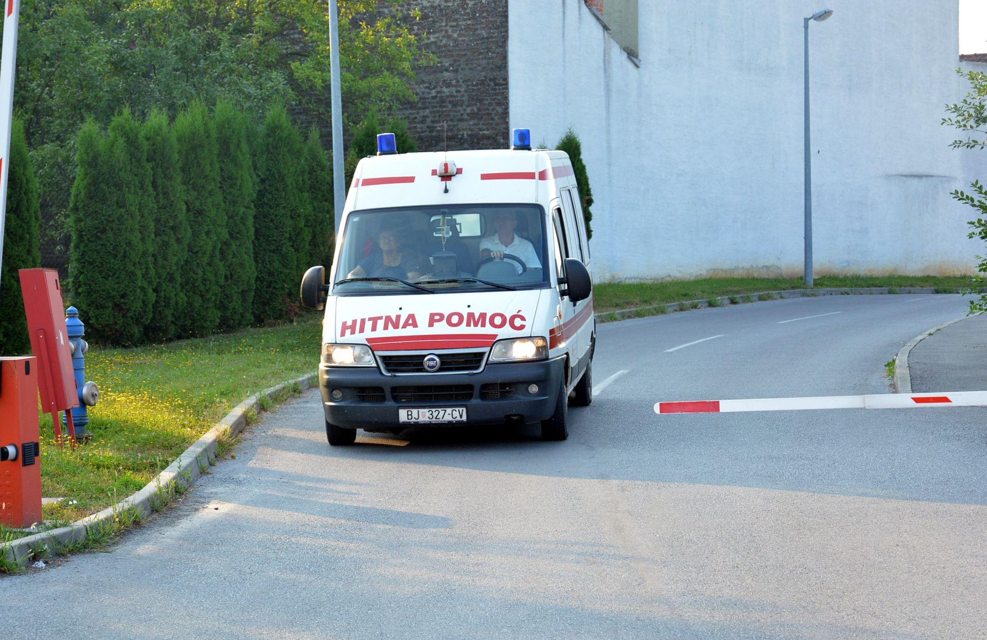 Majka i dvoje djece završili u bolnici zbog trovanja ugljičnim monoksidom