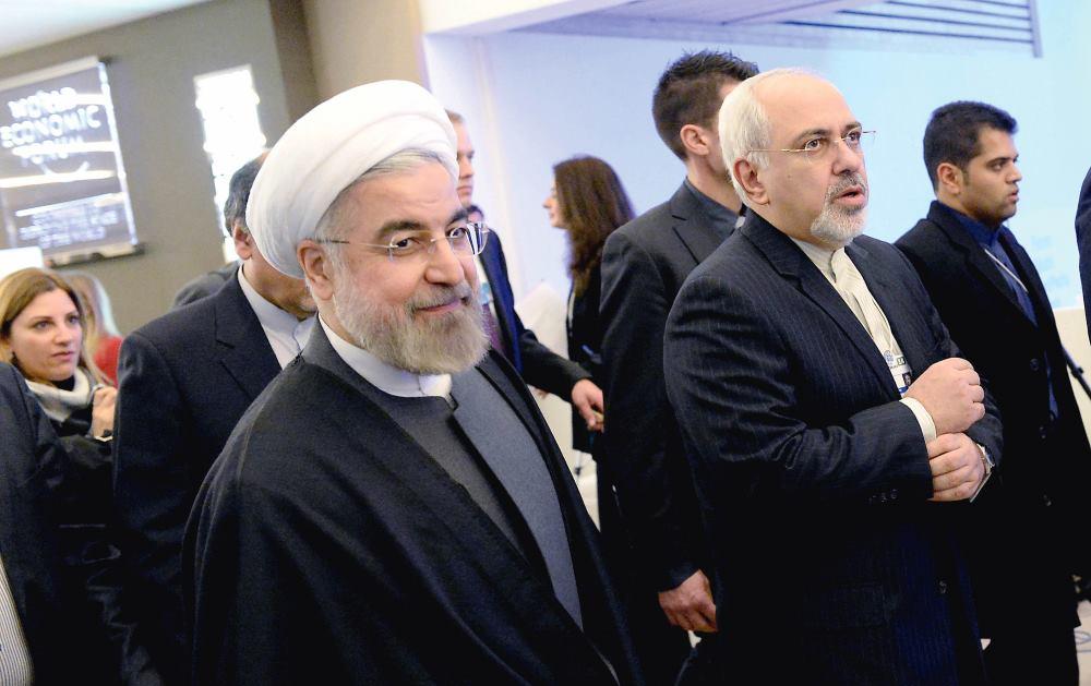 IRANSKI PREDSJEDNIK HASAN ROHANI I MINISTAR VANJSKIH POSLOVA MUHAMED JAVAD ZARIF VELIKA SU PODRŠKA MARYAM IMANIEH U NJENOJ BORBI ZA PRAVA ŽENA U IRANU FOTO: Wang Siwei/Photoshot