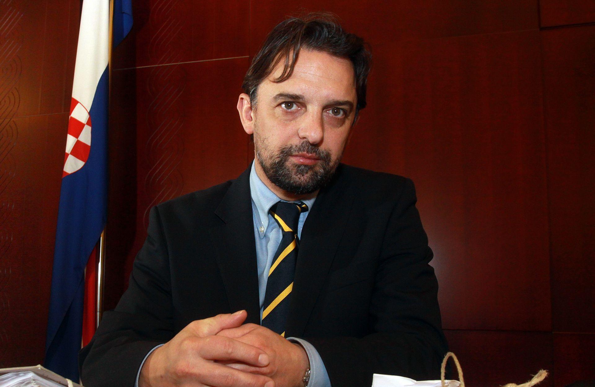 20.01.2012., Zagreb - Ivica Veselic, sudac na Zupanijskom sudu u Zagrebu.   Photo: Zarko Basic/PIXSELL